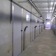 AgriDoor Isoplus porte intérieure avec serrure en inox